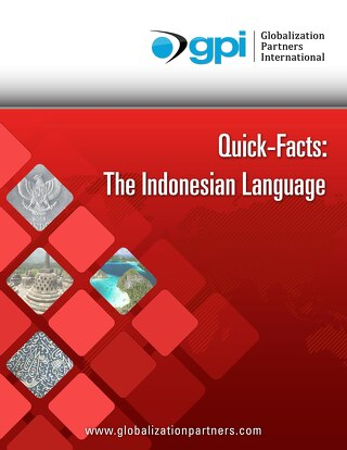 Quick Facts: The Indonesian Language