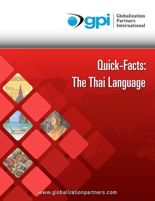 Quick Facts: The Thai Language