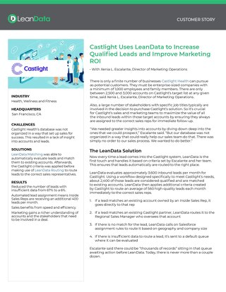 Castlight Health - Case Study