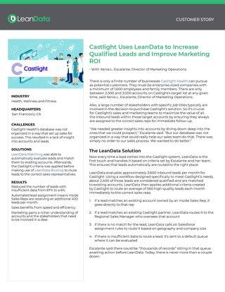 Castlight Health Case Study