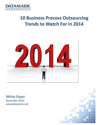 10 Business Process Outsourcing Trends to Watch For in 2014