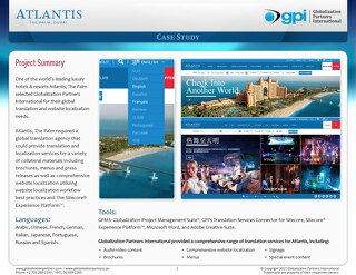 Atlantis, The Palm: Sitecore Website Localization Case Study