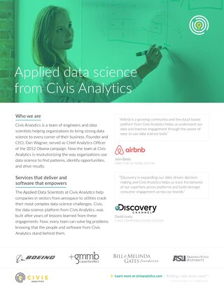 Applied Data Science Services