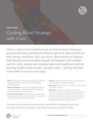 Guiding Retail Strategy