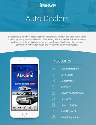 Auto Deal Industry Example