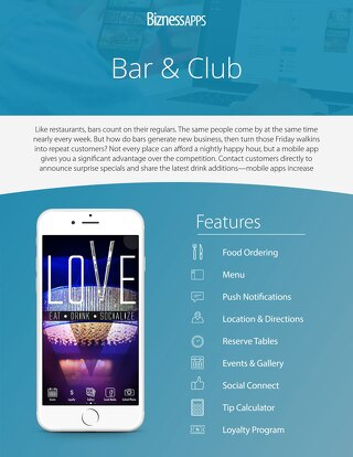 Bars & Clubs Industry Example