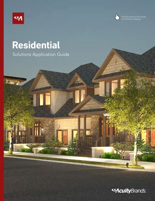 Residential Solutions Application Guide