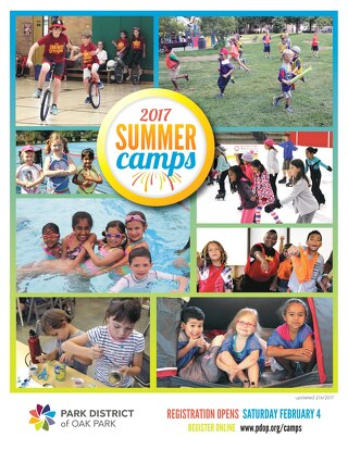 Park District of Oak Park Summer Camp Guide