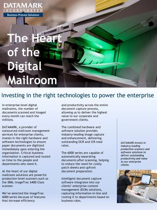 The Heart of the Digital Mailroom