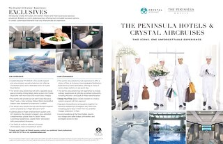 The Peninsula Hotels & Crystal AirCruises