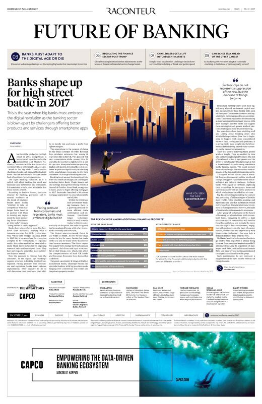 Future of Banking 2017 Special Report