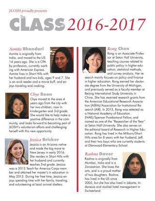JLOSH Class of 2016-2017