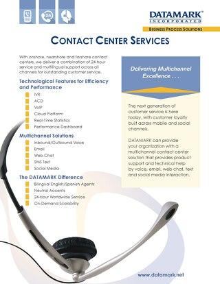Contact Center Services Brochure