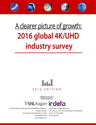 Survey: A clearer picture of growth: 2016 global 4K UHD industry survey