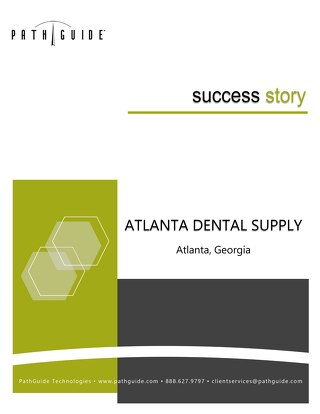 Latitude Manifest & Shipping System - Atlanta Dental