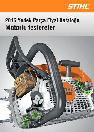 2016 Yedek Parca Katalogu - STIHL Motorlu Testereler