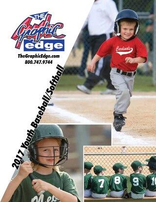 2017 Youth Baseball Catalog