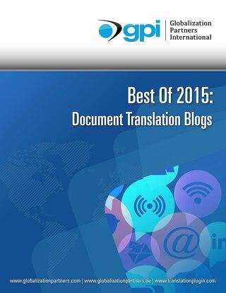 Best of 2015 Blogs - Document Translation