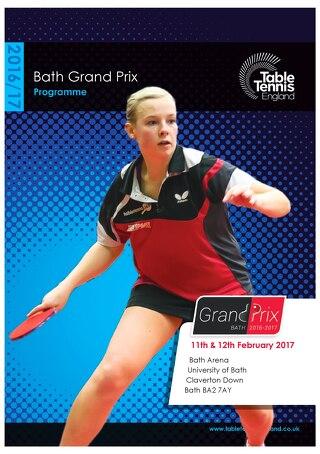 2016/17 Bath Grand Prix online programme