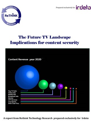 White paper: The future TV landscape - implications for content security