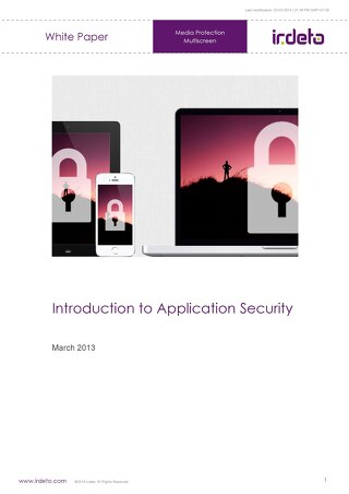 White paper: Introduction to application security
