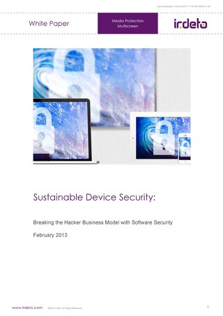 White paper: Sustainable device security
