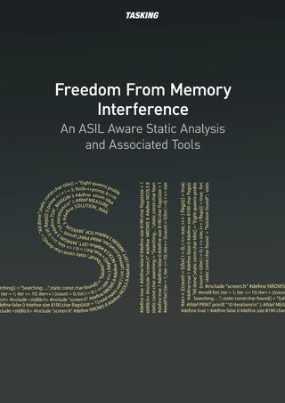 Freedom From Memory Interference An ASIL Aware Static Analysis and Associated Tools