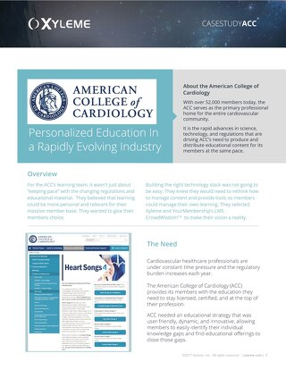 Case Study: American College of Cardiology