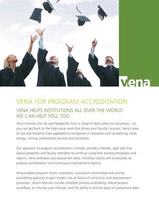 Vena Program Accreditation