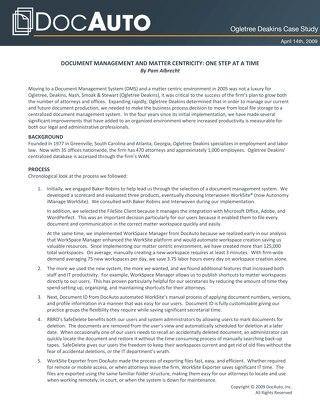 Gain control of enterprise content management