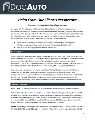 Why organizations choose Helm