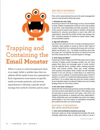 Protect & share valuable e-mail content