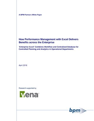 Enterprise Excel BPM Whitepaper