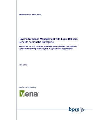 Enterprise Excel BPM Whitepaper