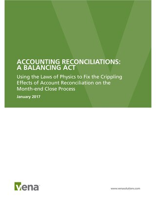 Account Reconciliations - A Balancing Act