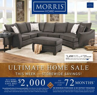 Morris Home current ad