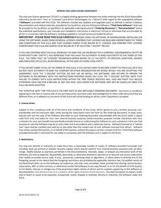 aPriori EULA (click through) 030117 v1