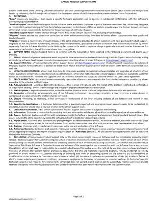 aPriori EULA Support Agreement 030117