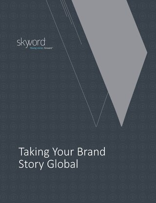 [eBook] Taking Your Brand Story Global