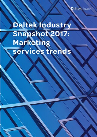 Deltek Industry Snapshot_Marketing