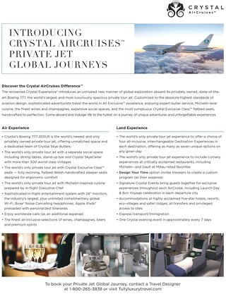 Crystal AirCruises Comparison 3.1.2017 Final