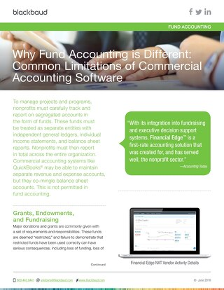 Why Fund Accounting is Different: Common Limitations of Commercial Accounting Software