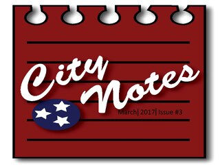 March 2017 city notes
