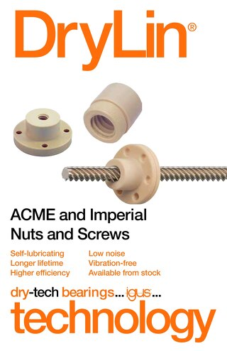 drylin ACME and Imperial Nuts and Screws