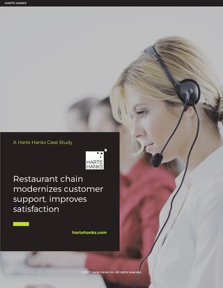 Restaurant Chain Improves Satisfaction with Modern Customer Support