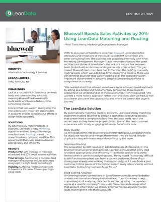 Bluewolf Case Study