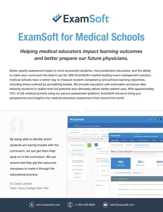 ExamSoft for MedicalSchools (International)