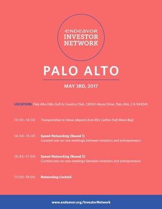 EIN 2017 Palo Alto Entrepreneur Agenda