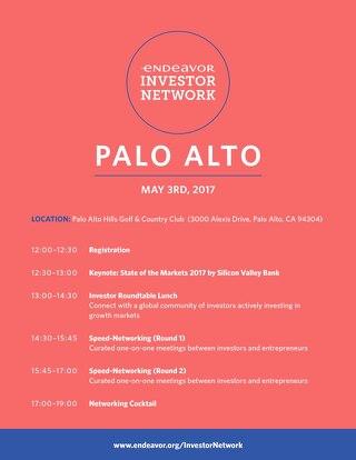 EIN 2017 Palo Alto Investor Agenda