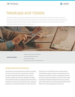 Netskope and Viptela